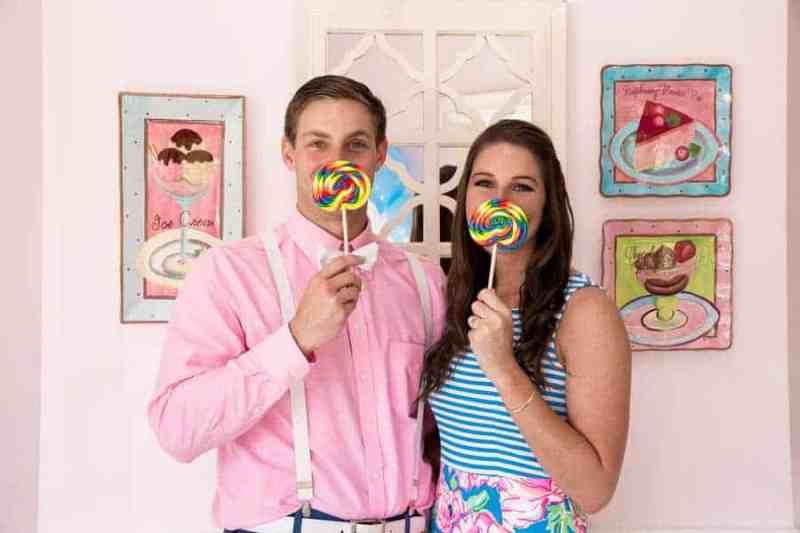 Ice Cream Parlour  Engagement Florida (19)