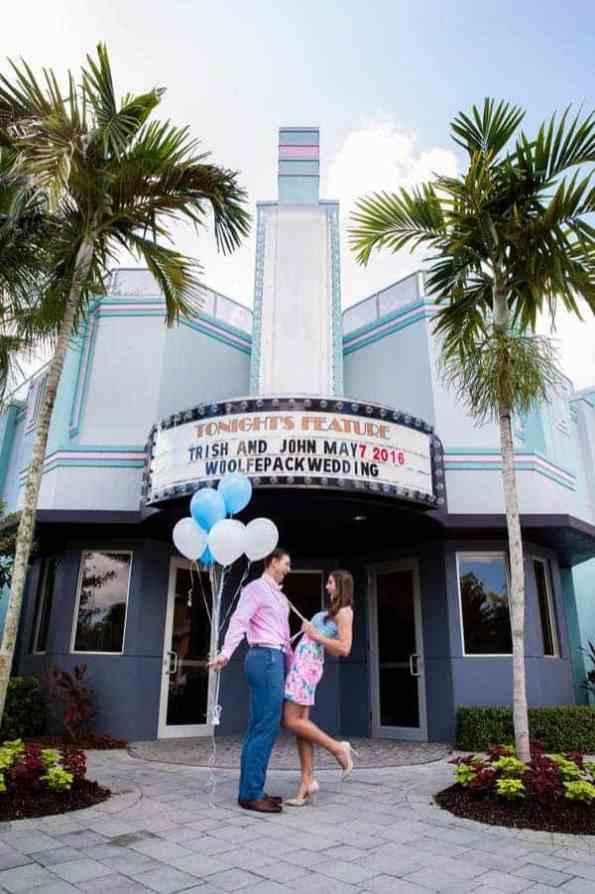 Ice Cream Parlour Engagement Florida (4)