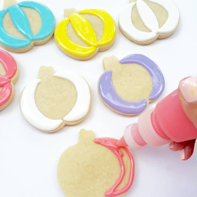 Pastel pumpkin cookie recipe DIY Halloween 2