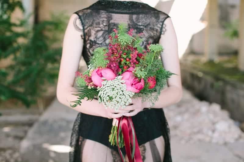 Wedding in Black for Halloween (3)