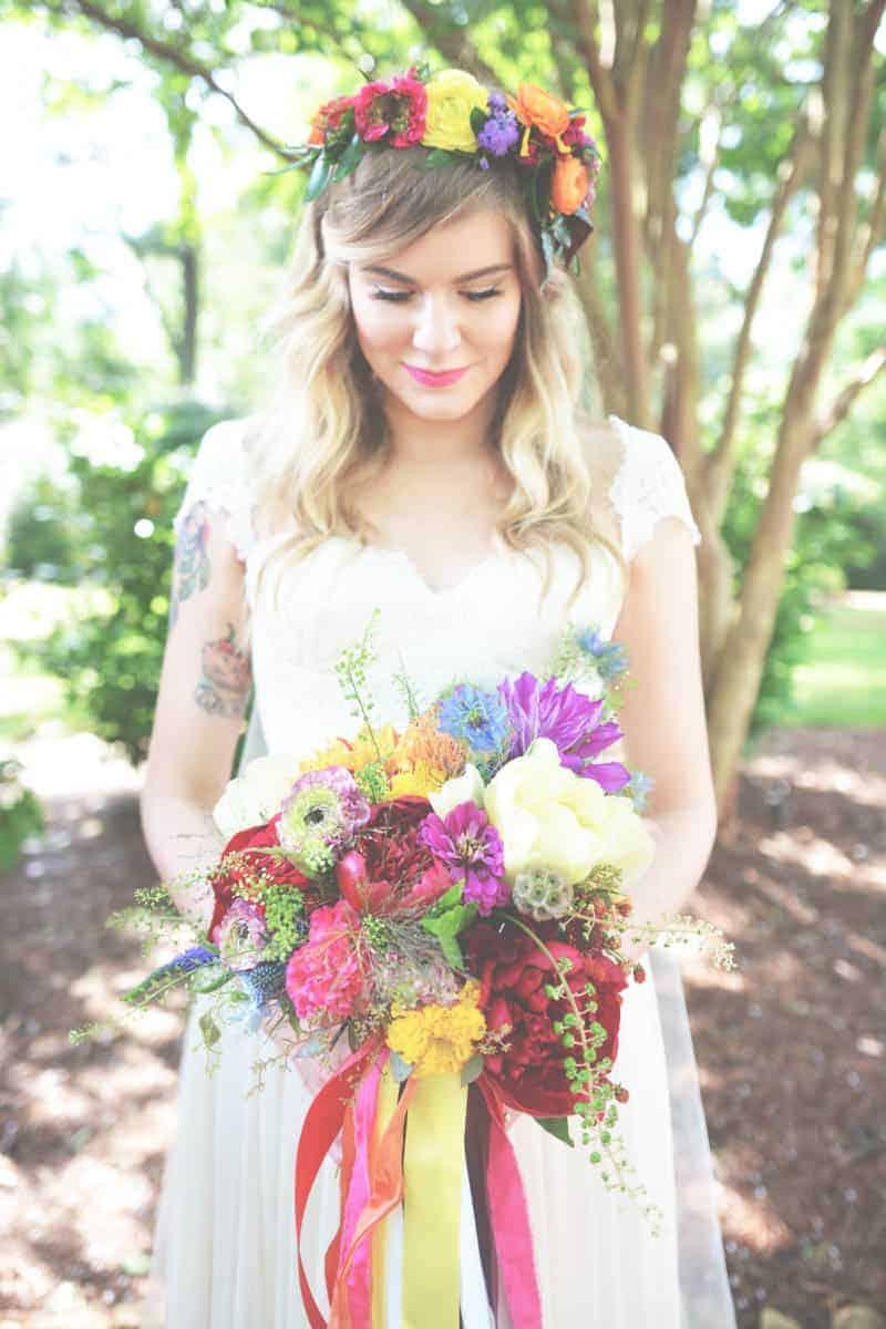 A SWEET BOHEMIAN WEDDING (20)