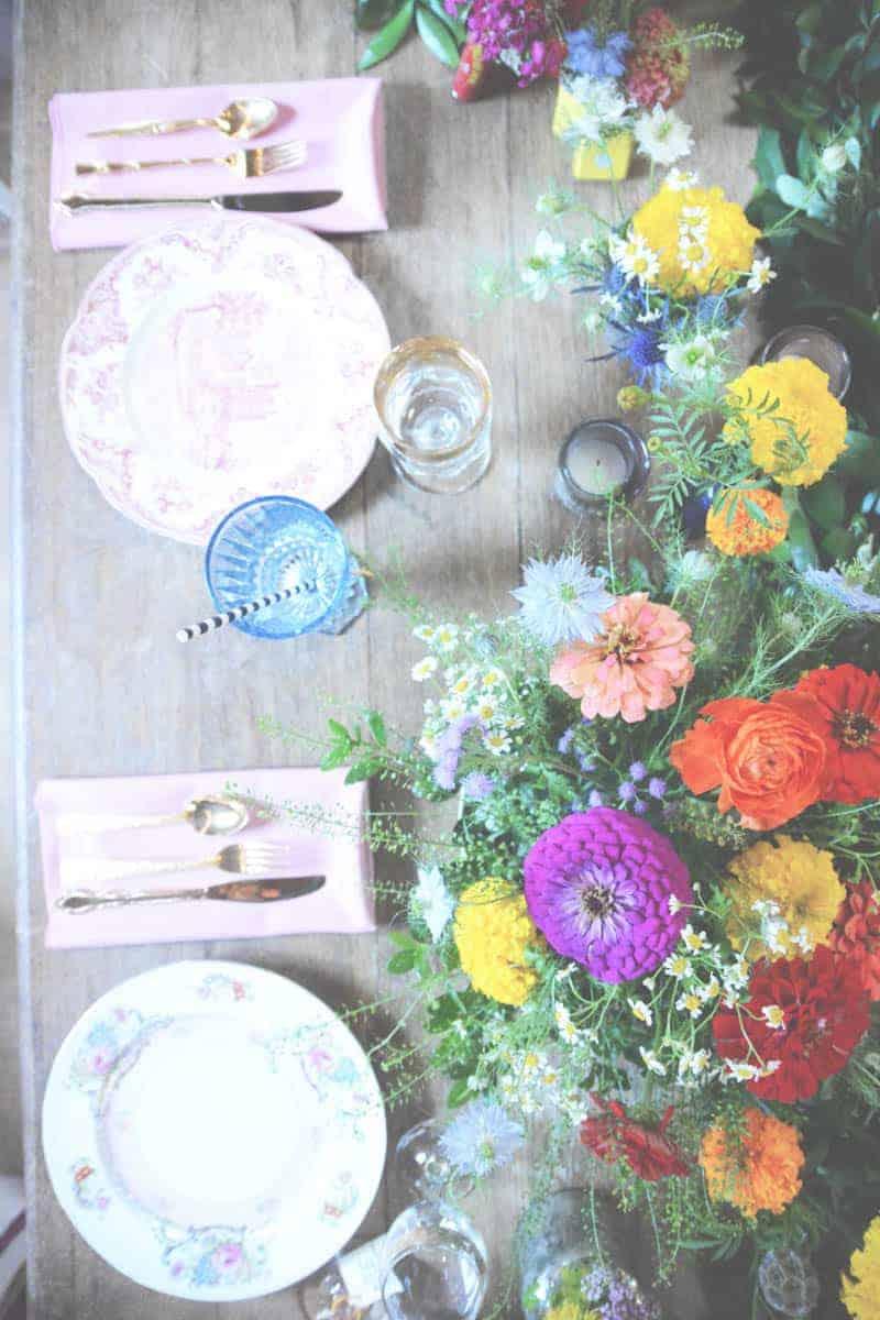 A SWEET BOHEMIAN WEDDING (4)