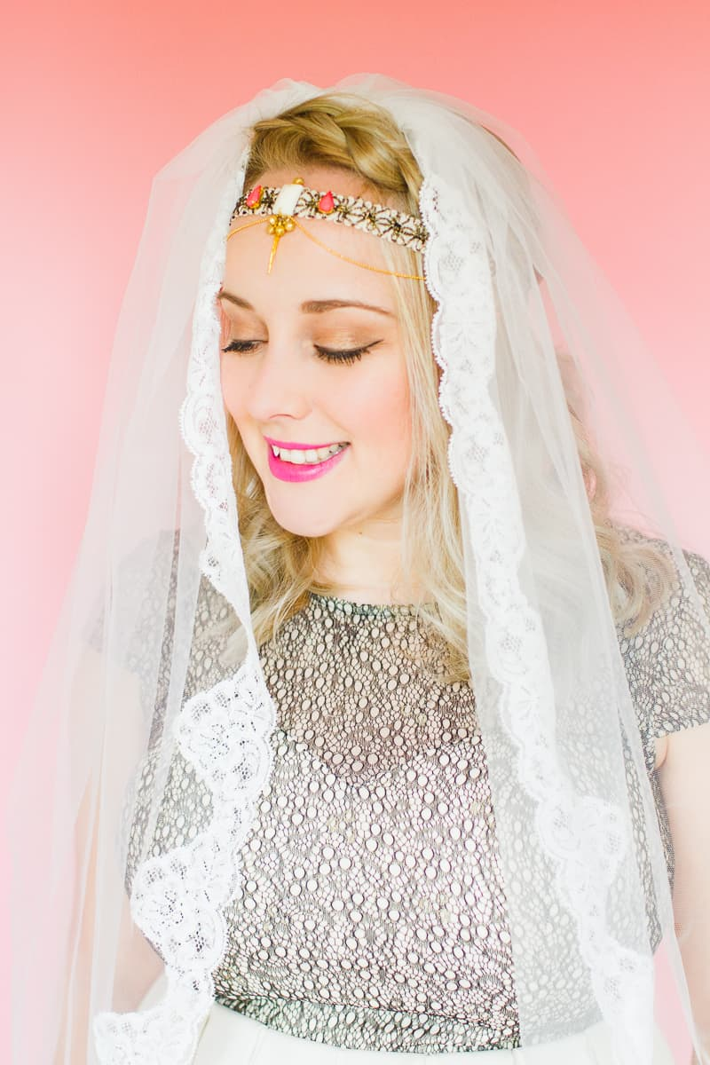 3 unique ways to wear your veil bespoke bride wedding blog styling wedding veils with floral flower crowns giant bows and boho headpieces for the modern bride izmirmasajfo