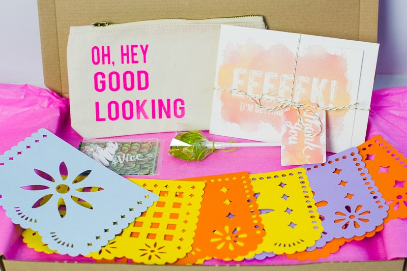 Wedding Subscription Box fun colourful BB Crafty club wedding goodies Rock on ruby lizzie may hollies lollies sugar & vice-1