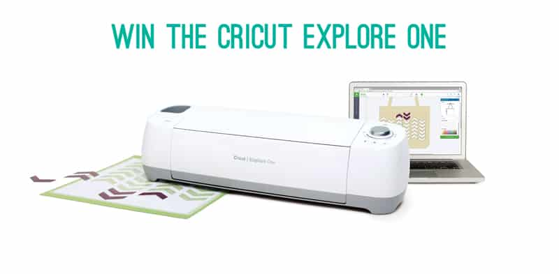 Win a Cricut Explore One with Bespoke Bride