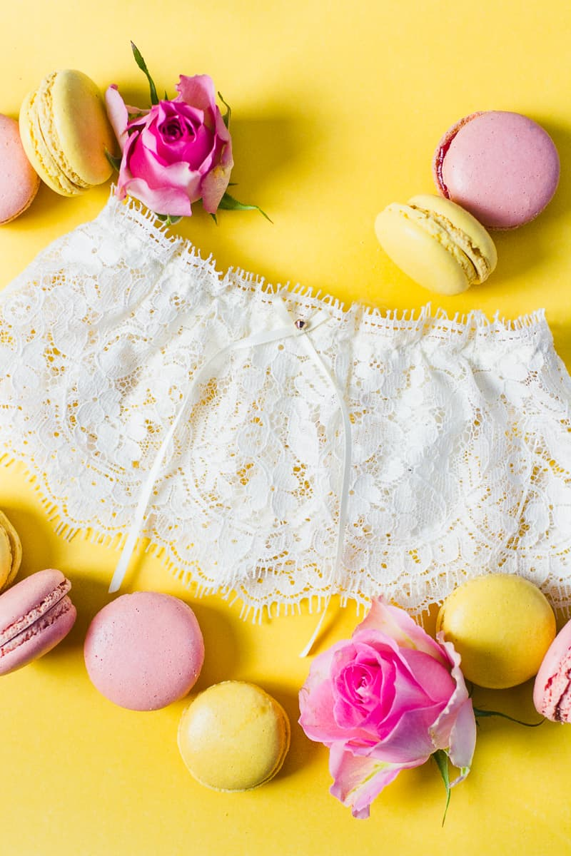 Wedding garter co USA still styling garters lace tulle details weddings_-6