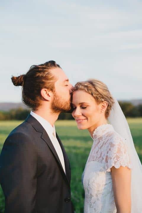 Wedding Day Man Bun 8