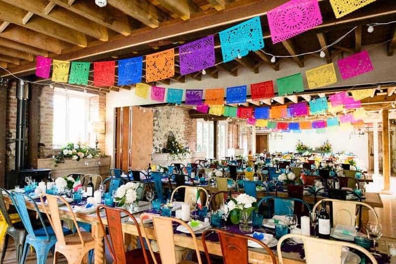 MEXICAN INSPIRED WEDDING WITH DIY PAPEL PICADO (1)