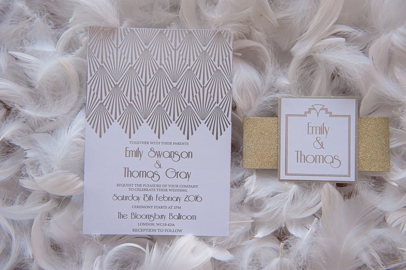 VAUDEVILLE VALENTINE Wedding inspiration Art Deco 1920s theme broadway bright lights and feathers_-15
