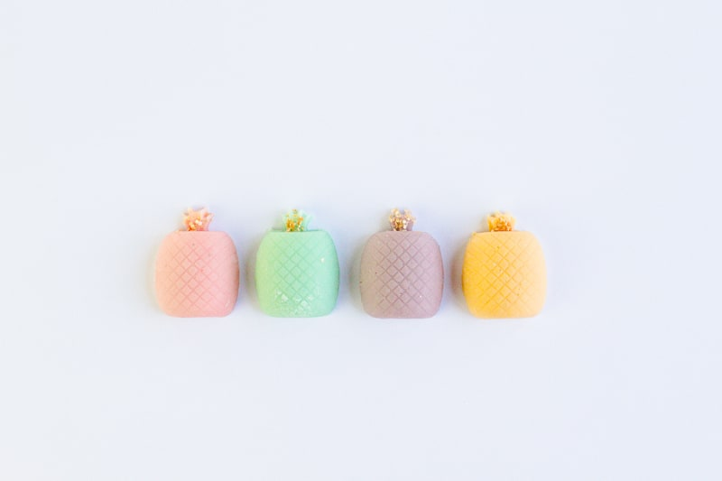 DIY mothers day gift favours chocolate pastel pineapples spring themed easter make your own-14
