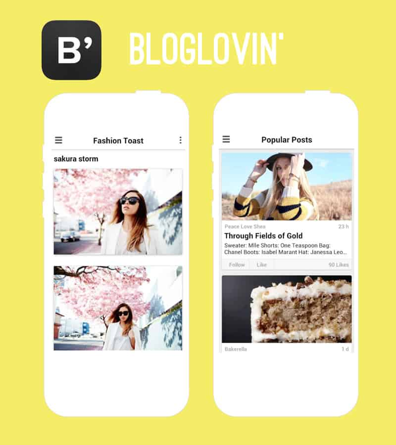 Bloglovin Wedding App New