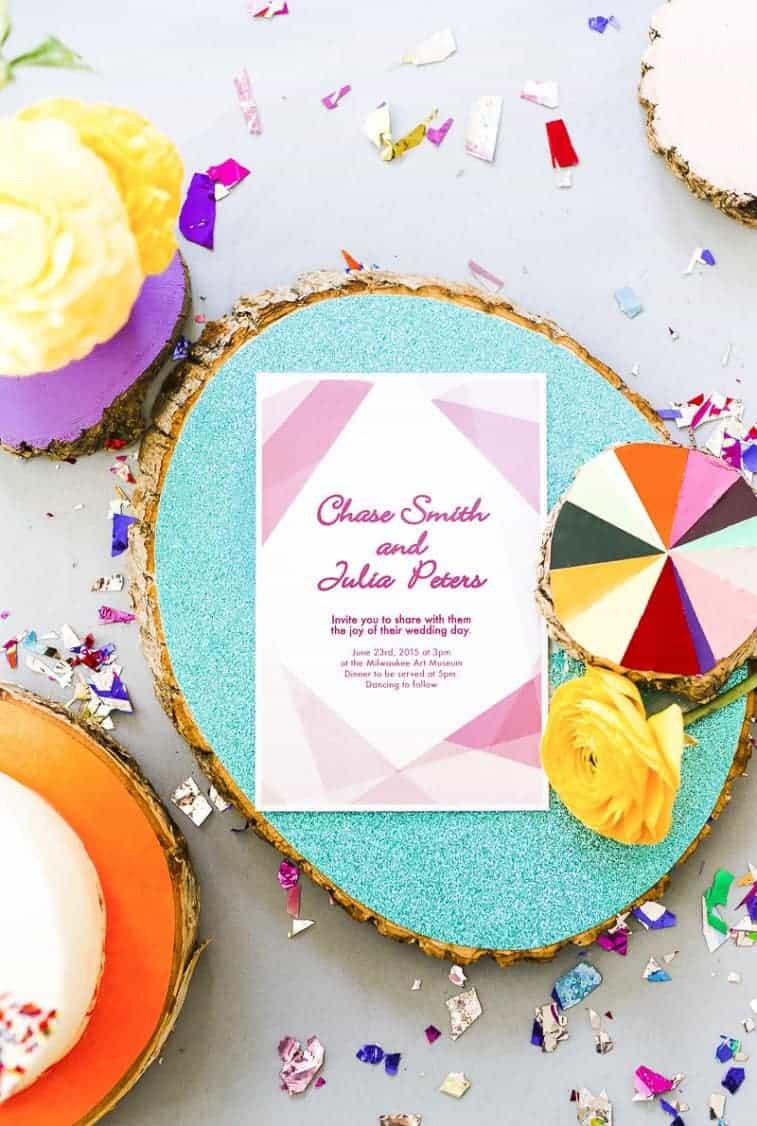 Geometric-Prismatic-colourful-modern-wedding-inspiration-unique-fun-18