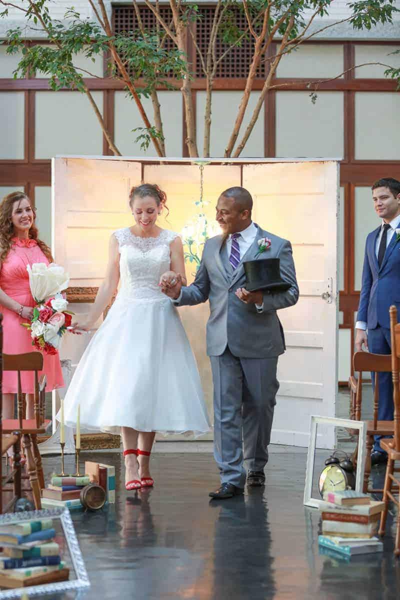 MODERN ALICE IN WONDERLAND THEMED WEDDING (7)