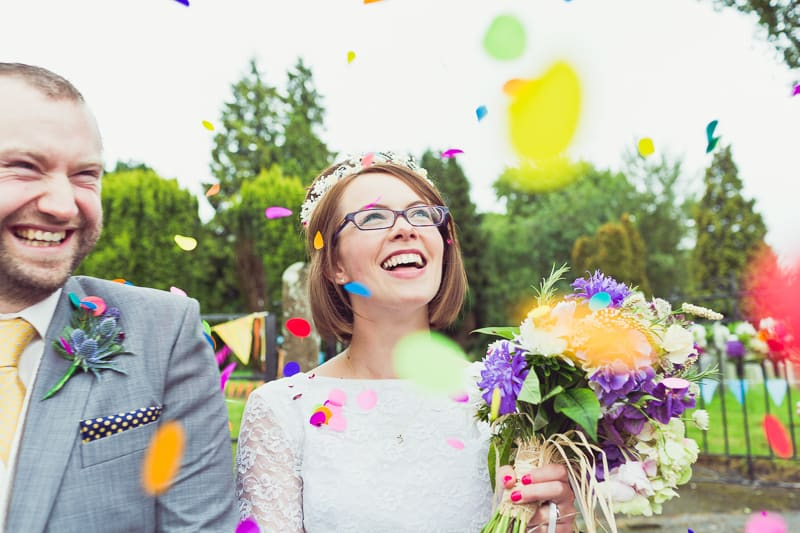 THIS CUTE DIY WEDDING IN A VILLAGE HALL IS EVERY CRAFTER'S DREAM! (29)