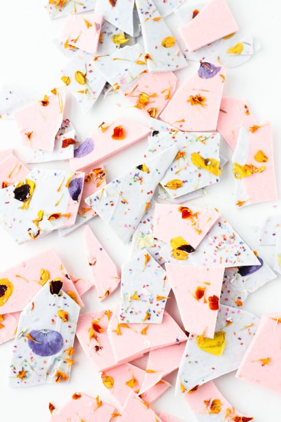 colorblocked-chocolate-bark-pink-purple-broken-into-pieces-3
