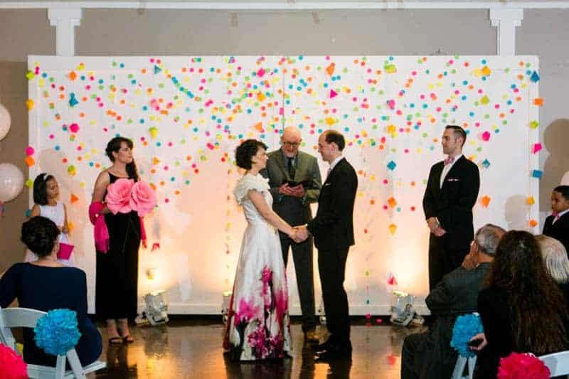 COLOURFUL SCIENCE THEMED WEDDING IN URBAN PORTLAND (15)
