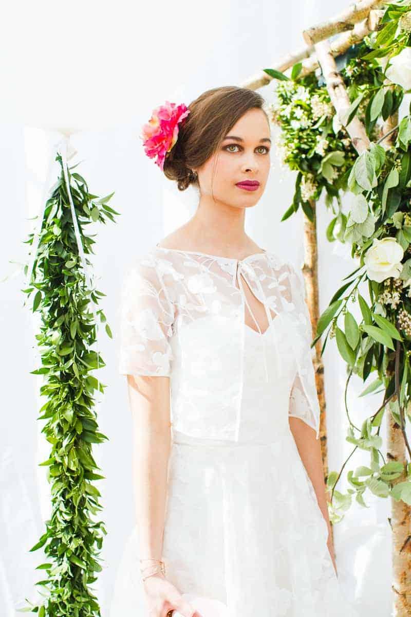 Not On The High Street Wedding Event Bespoke Bride-60