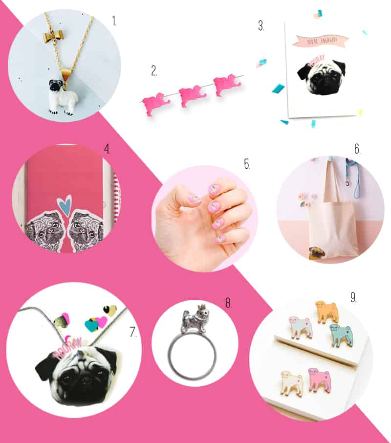 PUG ACCESSORIES FOR YOUR WEDDING