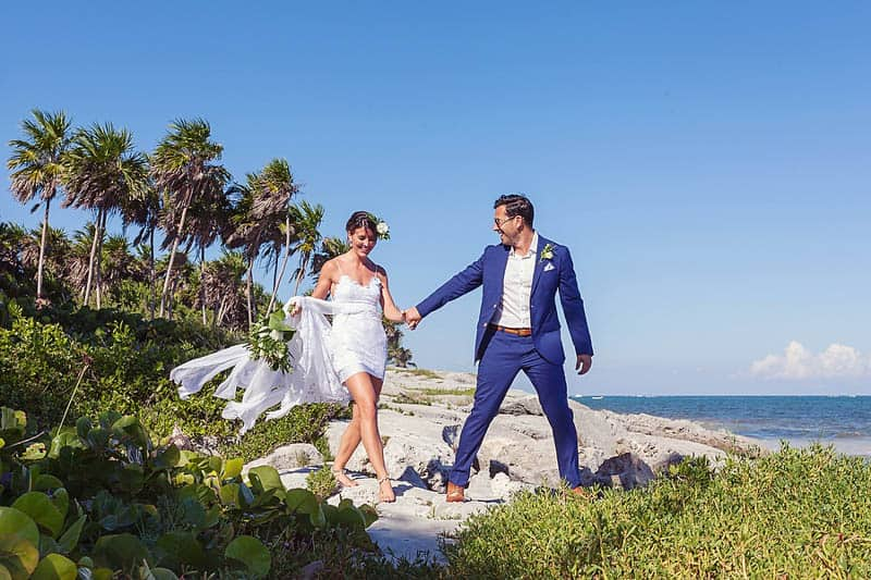 RELAXED BEACH WEDDING IN TULUM (8)