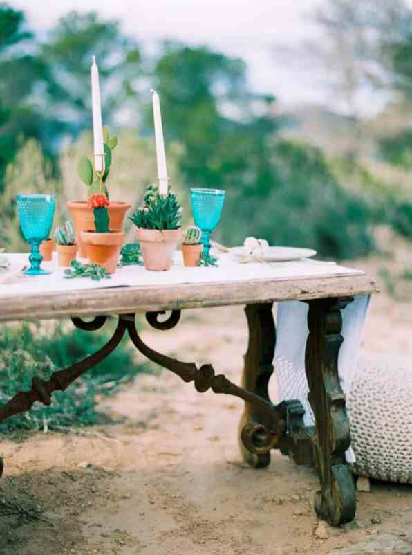 STYLED INSPIRATION AZTEC BOHO CACTUS WEDDING SHOOT IN ES VEDRA IBIZA (43)