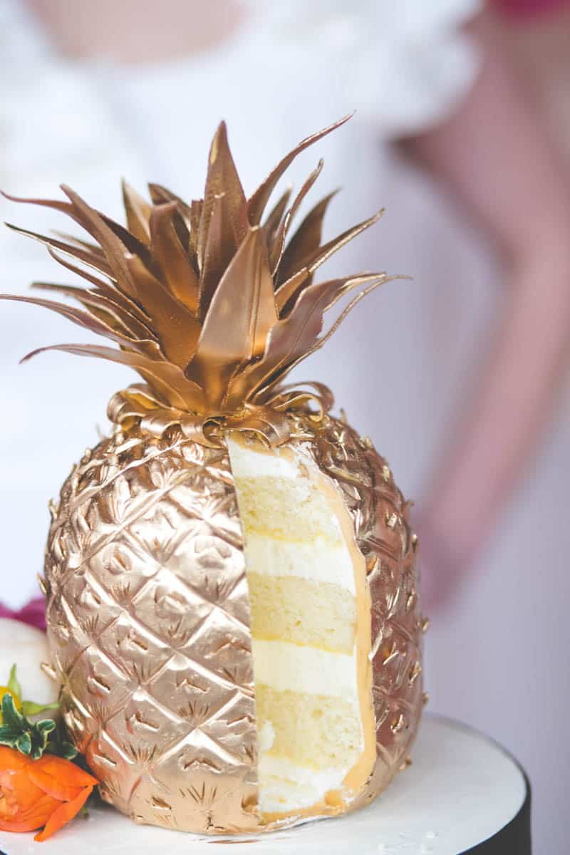 TROPICAL INSPIRED ENGAGEMENT BRIDAL SHOWER IDEAS (21)