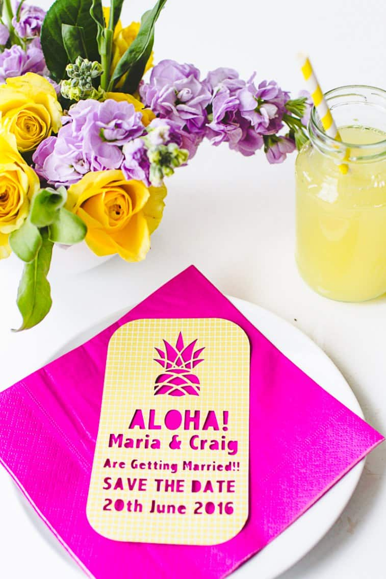 Tropical-Pineapple-Themed-Save-The-Date-Cutout-Stencil-Cricut-3