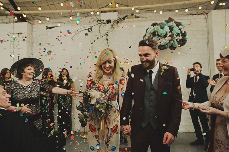 A Warehouse Wedding in Glasgow