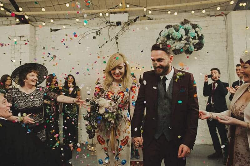 A Warehouse Wedding in Glasgow