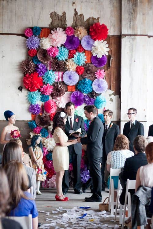 Elsies Abandoned warehouse wedding - A beautiful Mess