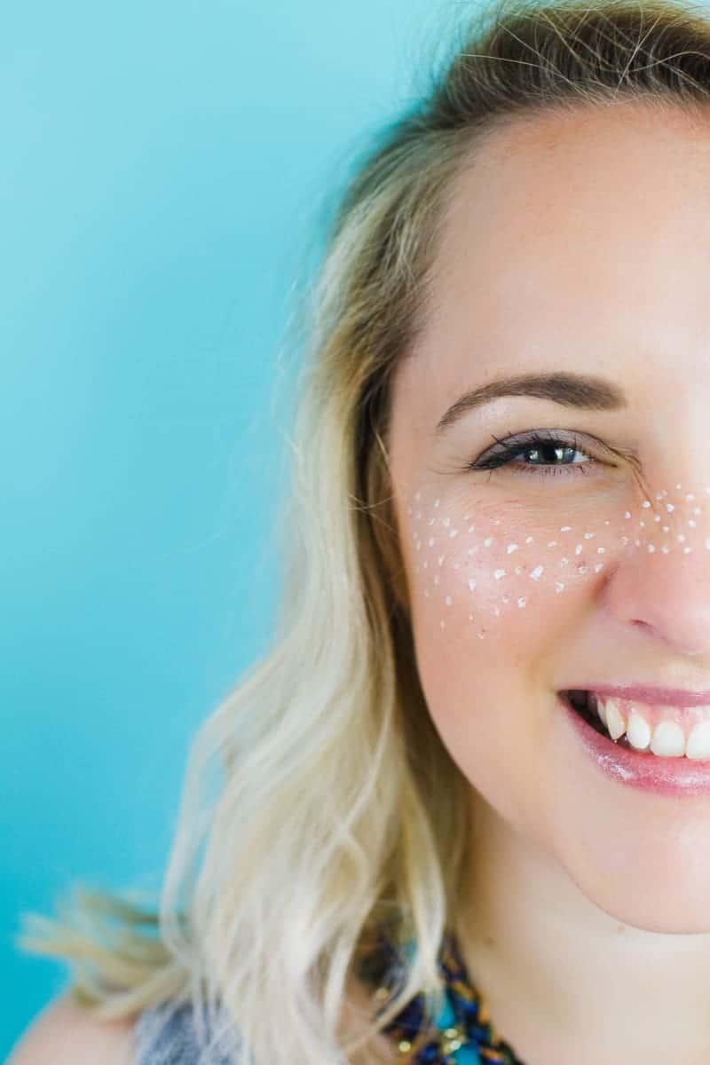 Festival Freckle Makeup Metallic Face art Weddings Bridal Festival themed wedding_-3