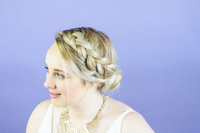 Natural Wedding Hairstyle Ideas Bohemian Hair Styles easy simple bride-1