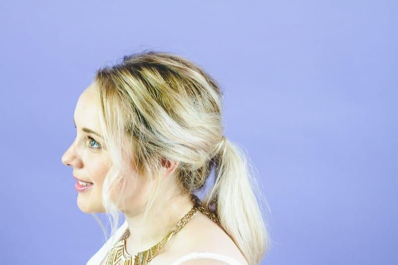 Natural Wedding Hairstyle Ideas Bohemian Hair Styles easy simple bride-3