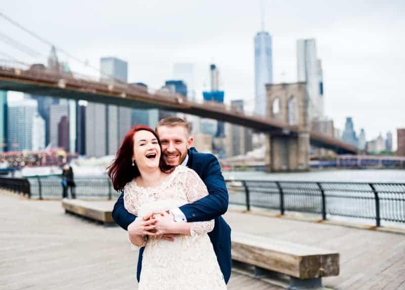 SWEET NYC, BROOKLYN BRIDGE ELOPEMENT COLOURFUL WALL MURALS (16)