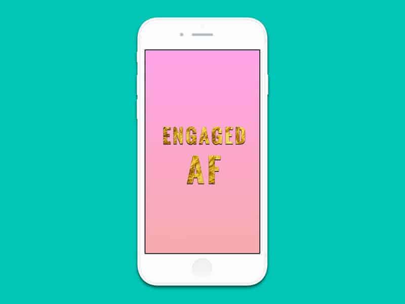 iPhone6 engaged AF