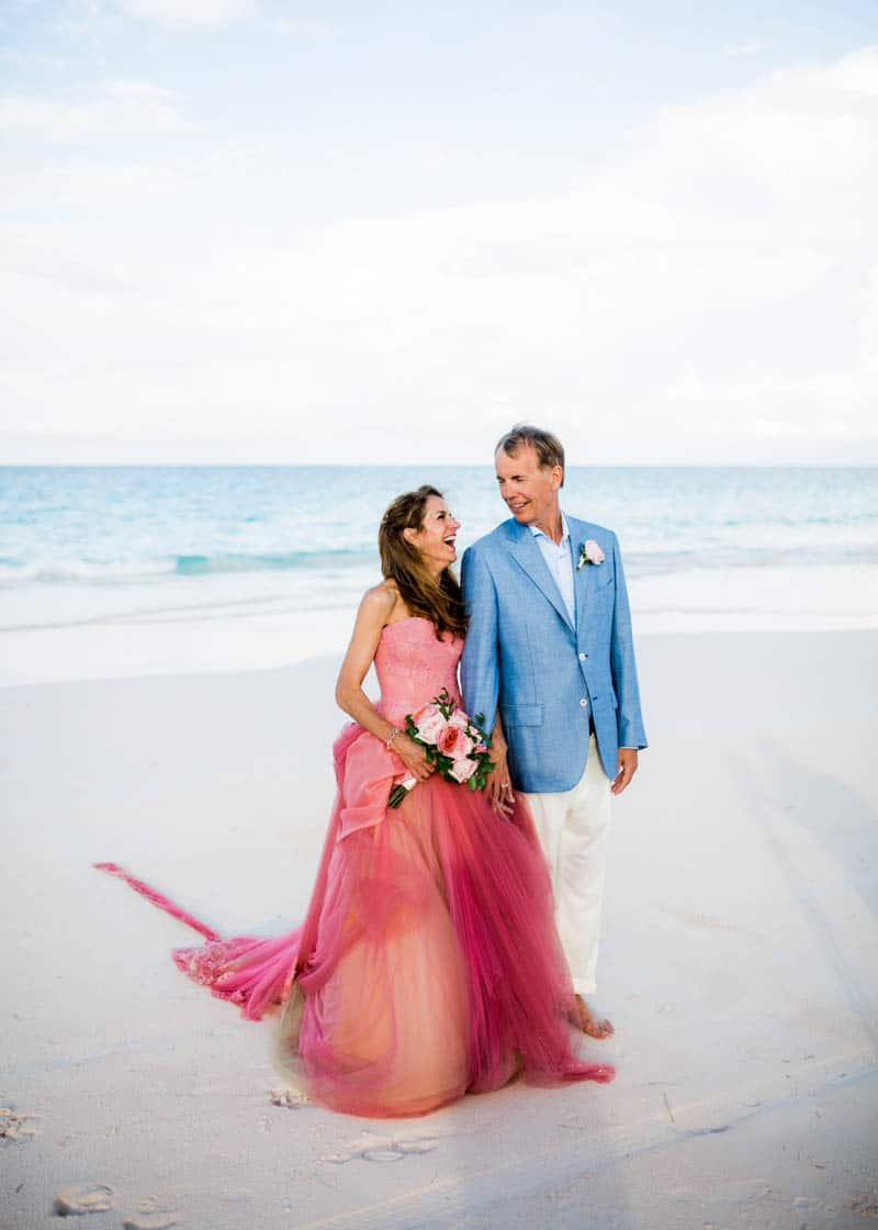 FAIRY TALE WEDDING WITH A PINK VERA WANG GOWN | Bespoke-Bride ...