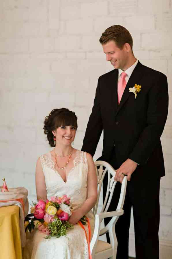 fun-colourful-yellow-coral-peach-wedding-and-bridal-shower-ideas-18