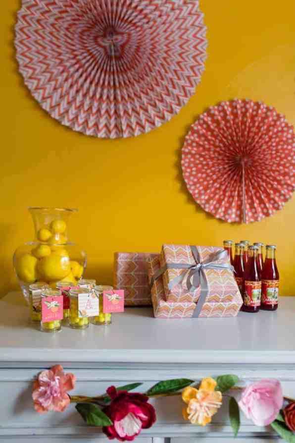 fun-colourful-yellow-coral-peach-wedding-and-bridal-shower-ideas-4