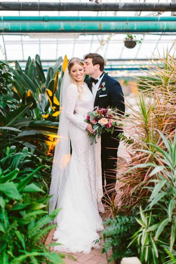 Romantic Philadelphia Horticulture Center Wedding - photo by Redfield Photography https://ruffledblog.com/romantic-philadelphia-horticulture-center-wedding