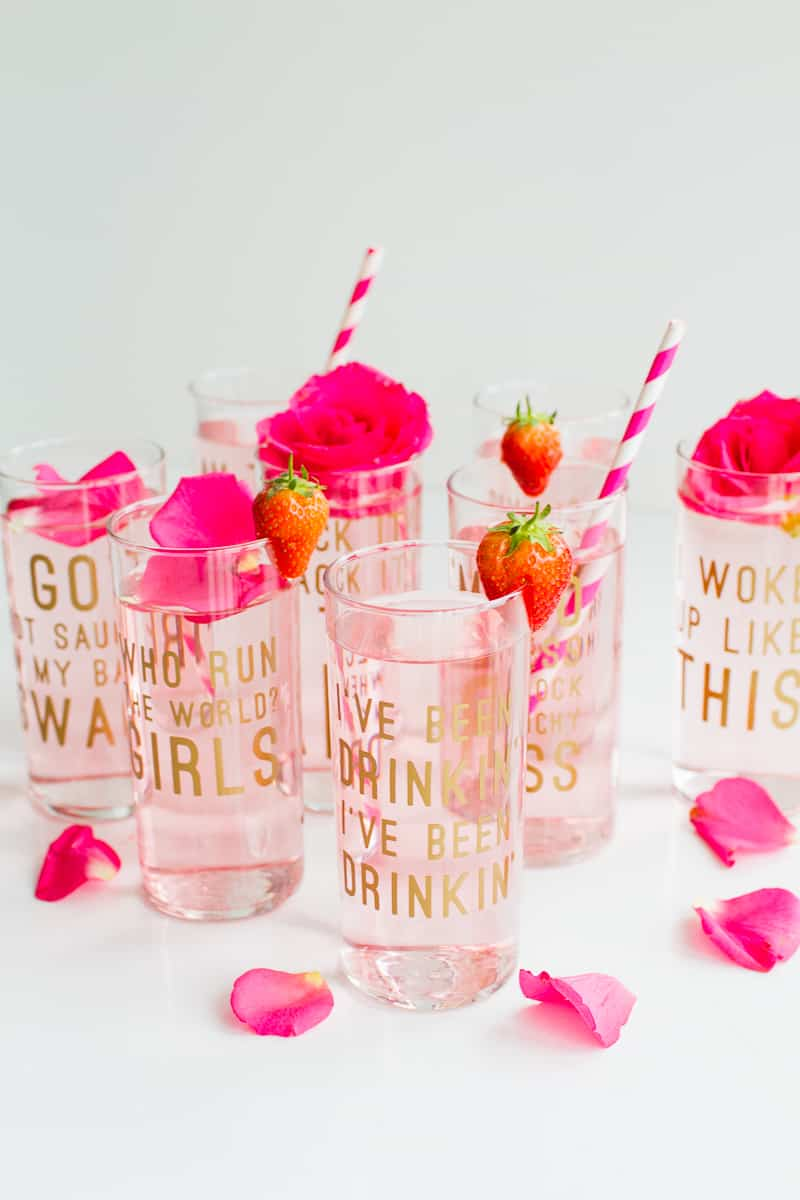 20-favourite-diys-for-your-hen-party-beyonce-lemonade-lyric-glasses