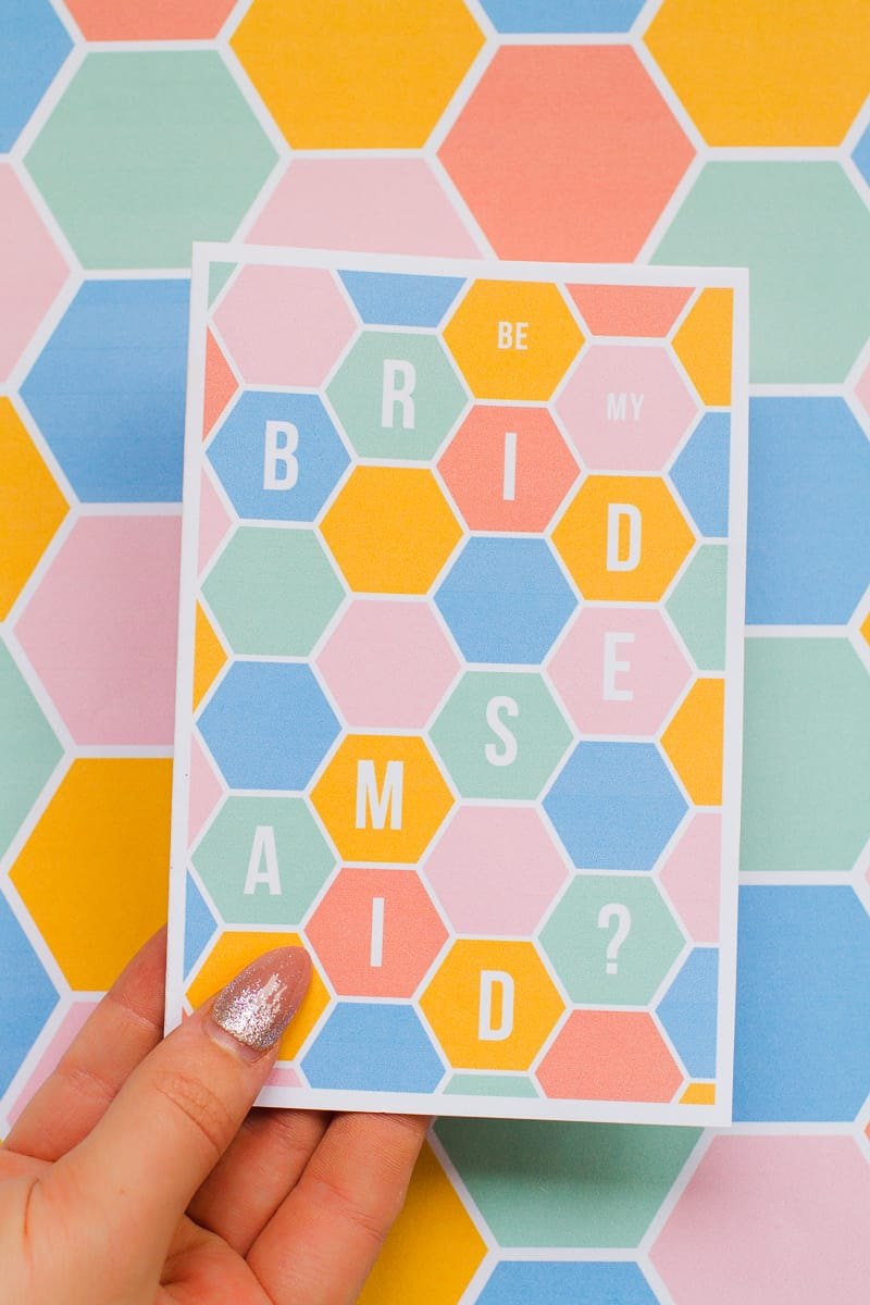 20-favourite-diys-for-your-hen-party-geometric-free-printable-will-you-be-my-bridesmaid-card