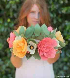 50 best paper flower tutorials bespoke bride wedding blog best paper flower tutorials for your wedding crepe mightylinksfo