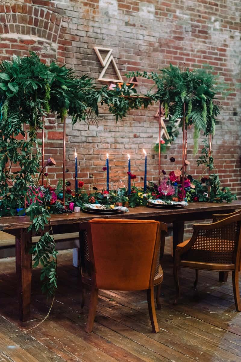 cool-colorful-boho-inspired-wedding-ideas-with-industrial-vibes-17
