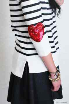 60+-VALENTINES-DAY-DIY'S-FOR-YOUR-GAL-PALS-SEQUIN-HEART-ELBOW-PATCH