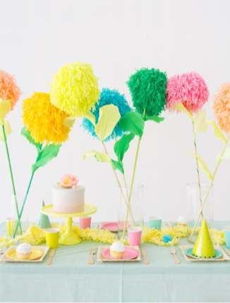 best-paper-flower-tutorials-for-your-wedding-diy-pom-pom-flowers-bespoke-bride-wedding-blog