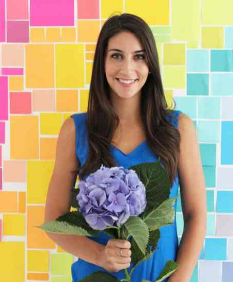 CREATIVE DIY WEDDING PARTY BACKDROPS-POST IT NOTE PHOTOBOOTH BACKDROP
