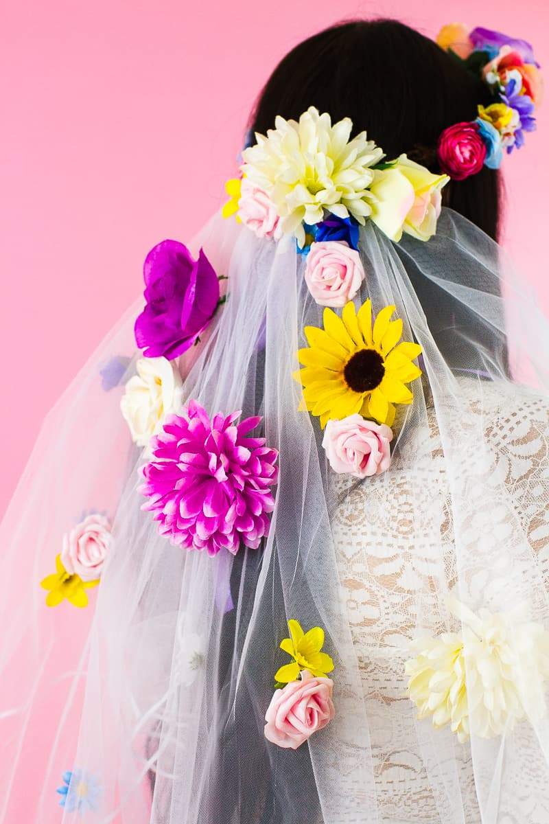 HOW TO MAKE YOUR OWN FLORAL VEIL | Bespoke-Bride: Wedding Blog