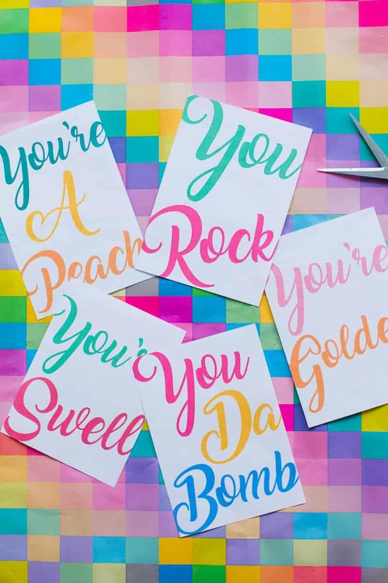 free-printable-thank-you-cards-calligraphy-modern-wedding-postcard-colourful-9