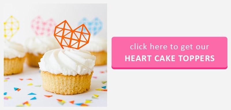 Cake Topper Button