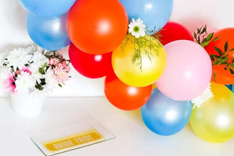 DIY Balloon Backdrop Arch Colourful Fun-20