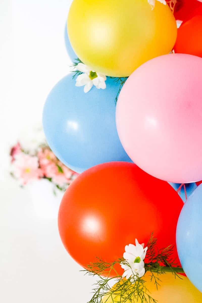 DIY Balloon Backdrop Arch Colourful Fun-9